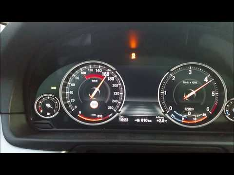BMW 535d xDrive ( 2015 ) 0 - 100 / 200, Acceleration Test
