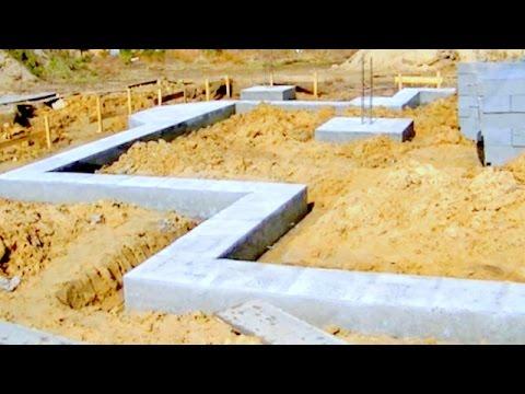 Wykonanie ław fundamentowych