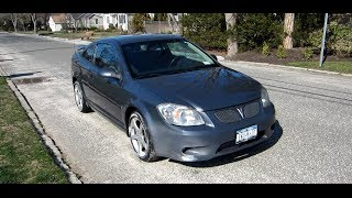 2007 Pontiac G5 GT Startup, Engine, Tour & Overview/Review