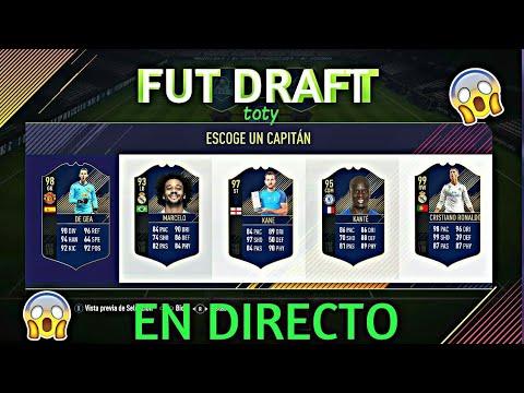 FUT DRAFT TOTY EN DIRECTO!! | FIFA 18