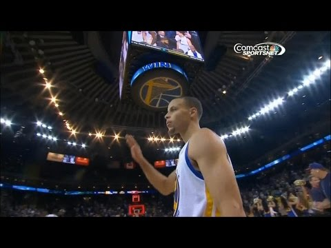 Stephen Curry ( 27 pts, 10 ast ) vs. Raptors (12-3-2013)
