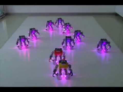 Роботы танцуют