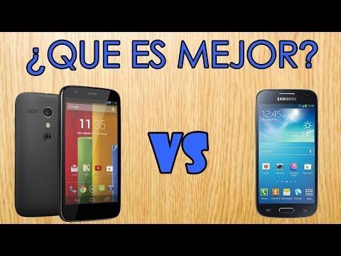 ¿Que es mejor?  Moto G vs Galaxy S4 mini