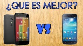 ¿Que Es Mejor?| Moto G Vs Galaxy S4 Mini