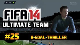 "Fifa 14 Ultimate Team | ""8-Goal-Thriler"" - Gameplay + Facecam 