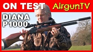 FIRST LOOK - Diana P1000 air rifle PCP
