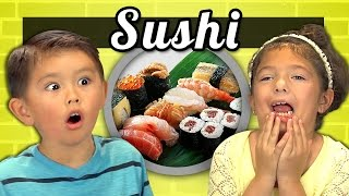 Kids Try Sushi For The First Time
