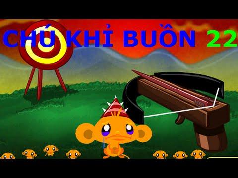 Chú khỉ buồn 22 - Video hướng dẫn game