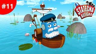 Statočné autíčka - Rybár Fred v nebezpečných vodách