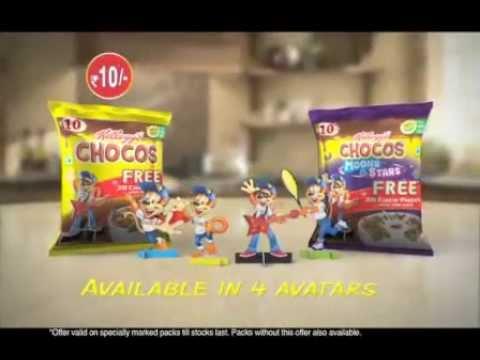 Kellogg's Chocoland K-Pak Commercial