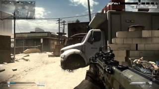 CoD GHOSTS Gameplay - Cranked On Octane w/ MTAR-X & Honey Badger