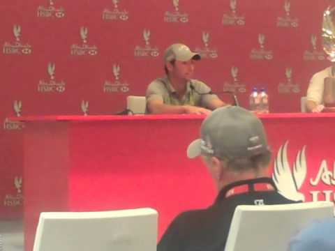 Larrazabal, Mickelson and McIlroy after Abu Dhabi HSBC Golf Championship final round
