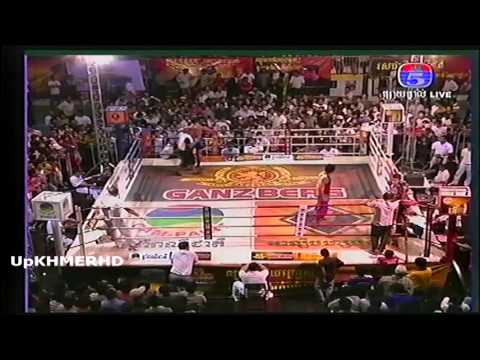 Khmer Thai International Boxing from TV5 on 28 Nov 2013 Pich Sei Ha VS