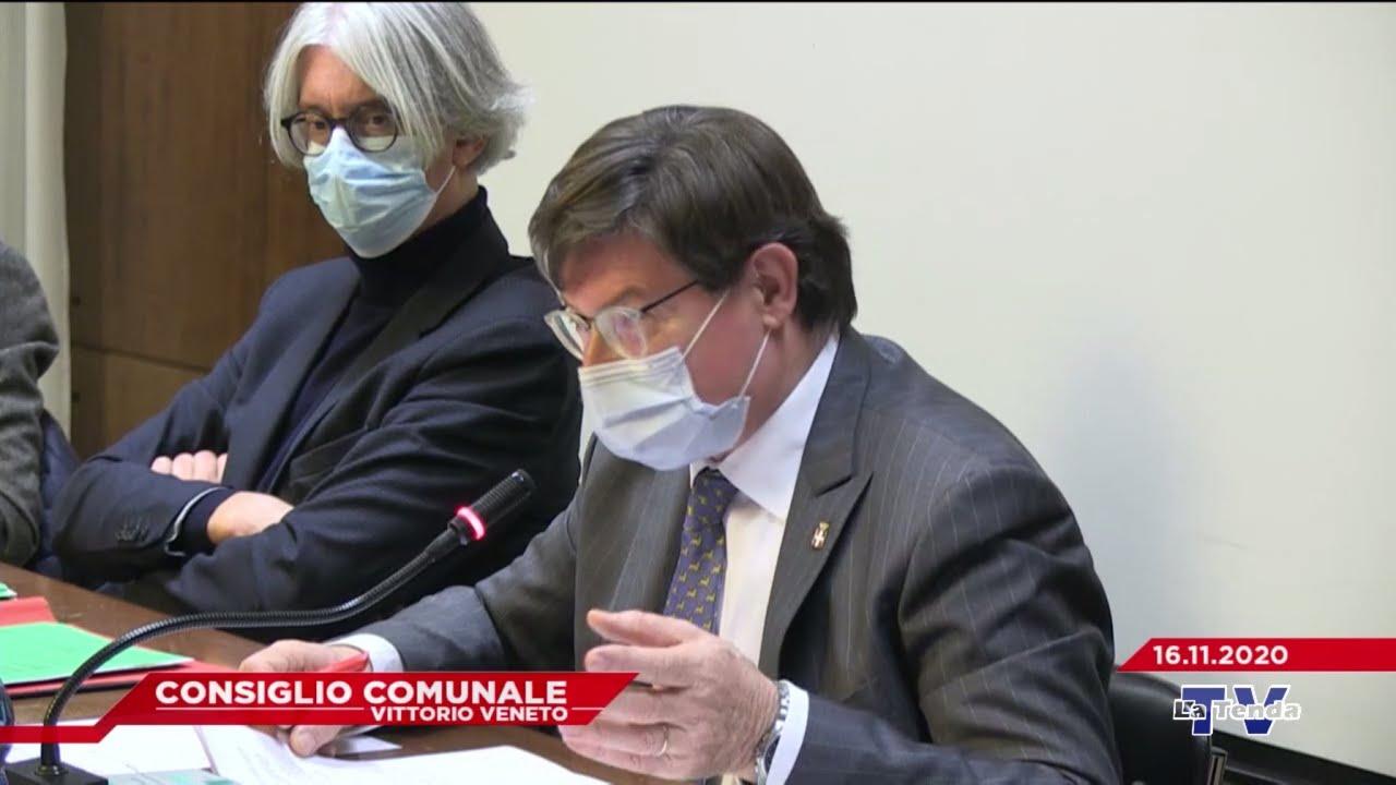CONSIGLIO COMUNALE VITTORIO VENETO - Seduta del 16.11.2020
