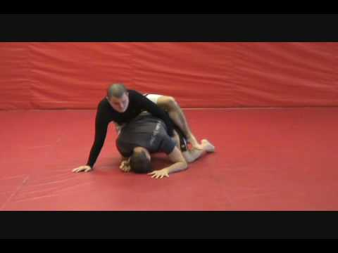 Arm Drag from Half-Guard