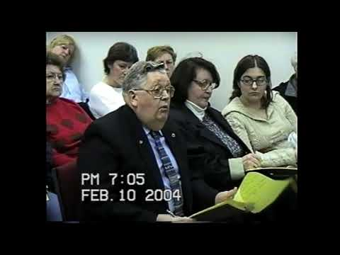 Champlain Town Board Meeting 2-10-04