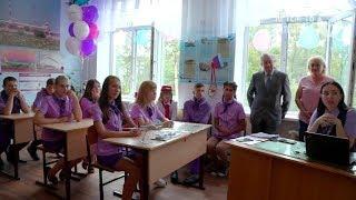 В Артёме открылся первый школьный класс авиаторов