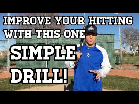One SIMPLE Baseball Hitting Drill for Kids!