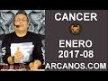 Video Horóscopo Semanal CÁNCER  del 19 al 25 Febrero 2017 (Semana 2017-08) (Lectura del Tarot)