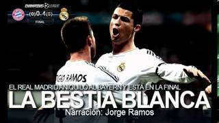 Bayern Múnich 0-4 Real Madrid (AUDIO ESPN Deportes Radio