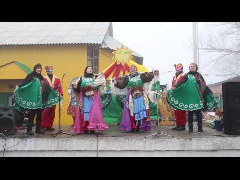 Масленица в поселке Северное. Видео
