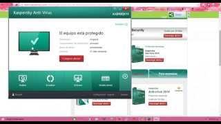 Como Descargar El Antivirus Kaspersky 2014 Por 30 Dias De