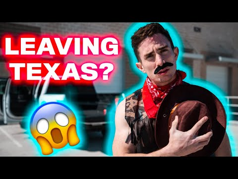 Moving out of Texas?