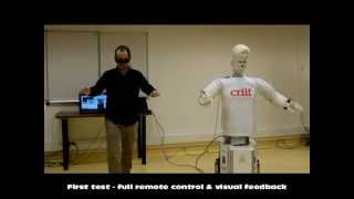 SAMI the Semi Humanoid Robot