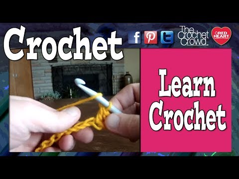 Learn How To Crochet: Lesson 1 with Mikey