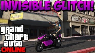 GTA 5 Online - Invisible Player & Vehicle Glitch! - Easiest Method Ever! (GTA 5 Glitches)