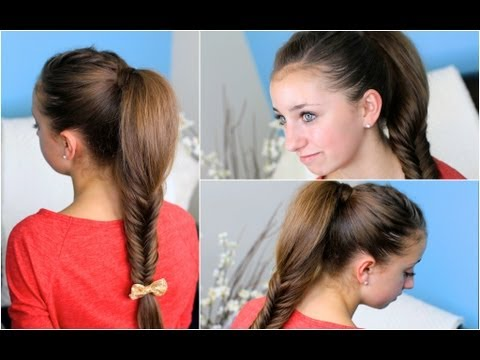 Fluffy Fishtail Braid | Zendaya's Replay Hairstyle