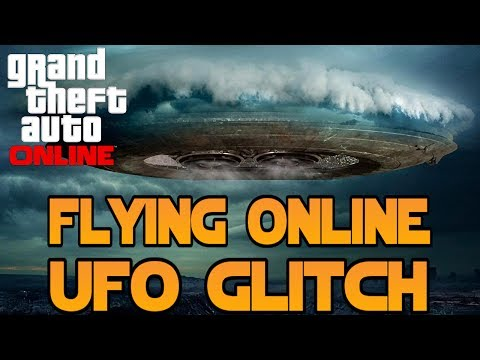 GTA 5 : How To Get A Flying UFO Online (