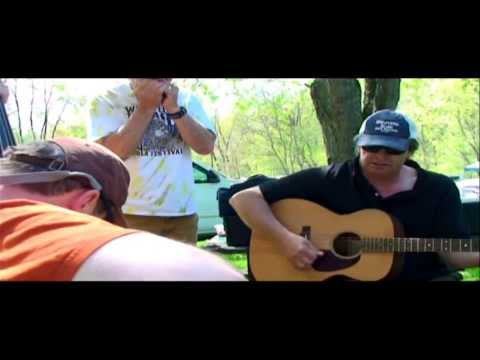 Cheat Fest 2013 Campground Jam 2 Guitars 1 Bass 2 Harps continued  Video dale briggs footage