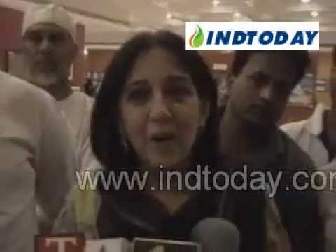 Actor Aamir Khan's Mother and Sister at Islamic Art Exhibition......