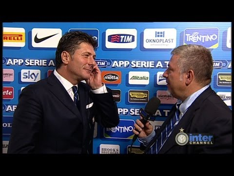 INTERVISTA WALTER MAZZARRI POST INTER - JUVENTUS