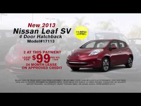 Get Rid of Gas Bills with the All-Electric 2014 Nissan Leaf!