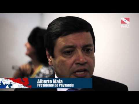 Reunião sobre o Parazão 2015 - Entrevista com os presidentes do Remo, Paysandu e FPF
