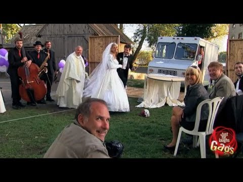 Real Life Wedding Crasher Gag
