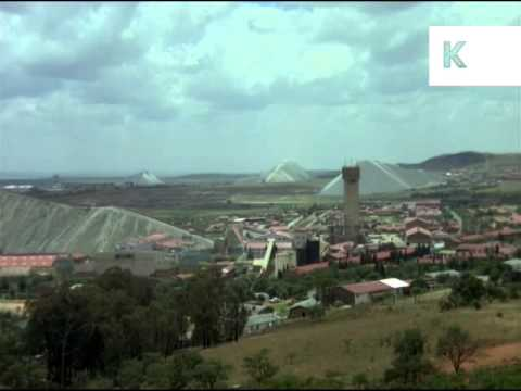 1970s South Africa Open Cast Diamond Mine, 35mm Archive Footage