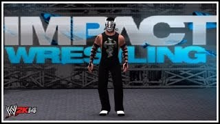 Willow The Wisp New Attire! TNA Impact Wrestling (WWE 2K14)