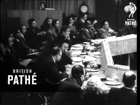 UN Session On Palestine (1947)