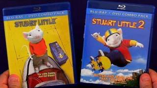 Stuart Little Blu Ray Unboxing Review Double Blu-ray