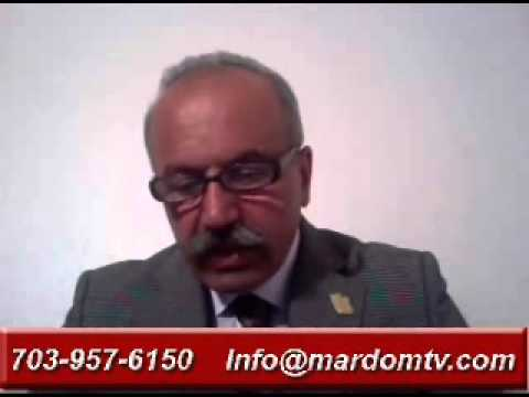 Jahangir Shadanlou * 08 May 2013 * Persian TV * Mardom TV usa