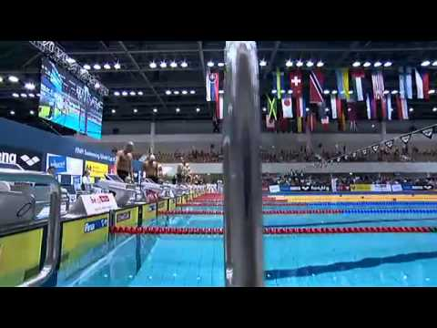 Men's 100m medley final FINA Swimming World Cup 2013 Berlin