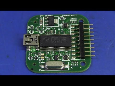 EEVblog #436 - Saleae USB Logic Analyser Review & Teardown