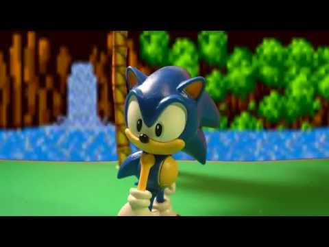 "Classic Sonic the Hedgehog Stop Motion Animation: Trouble in Green Hill!?, Music Used: ""Hedgehog Heaven: Is it over?"", ""Green Hill Zone Remix by Adam"" Please read description! Yes, I know I'm INCREDIBLY late(probably the latest), bu..."