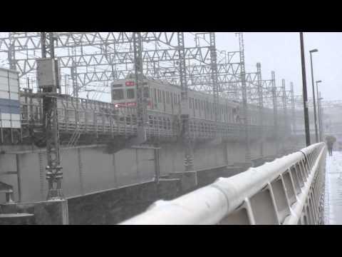 Severe Snow Storm in Tokyo Japan 2014