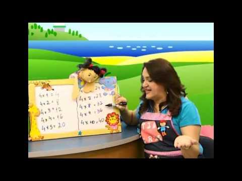 TABUADAS CANTADAS DA TIA CRIS do 2 3 4 5 6 7 8 9-MATERIAL DE APOIO -CD www.cantarebrincar.com.br