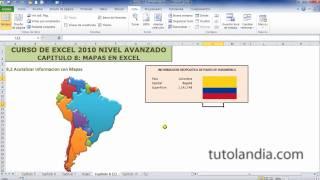 Excel 2010 Avanzado: 8.2 Actualizar Información Con Mapas