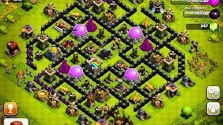 The BEST Defense Bases For Town Hall Level 6,7,8 And 9